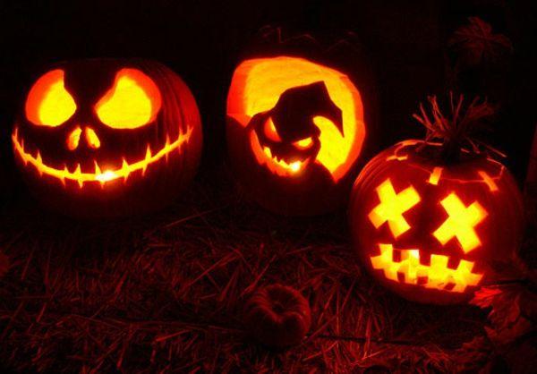 Fantastische Halloween Kurbis Gesichter Deko Idee Nightmare Before Christmas Kurbis Gefullter Kurbis Kurbis Schnitzen Motive