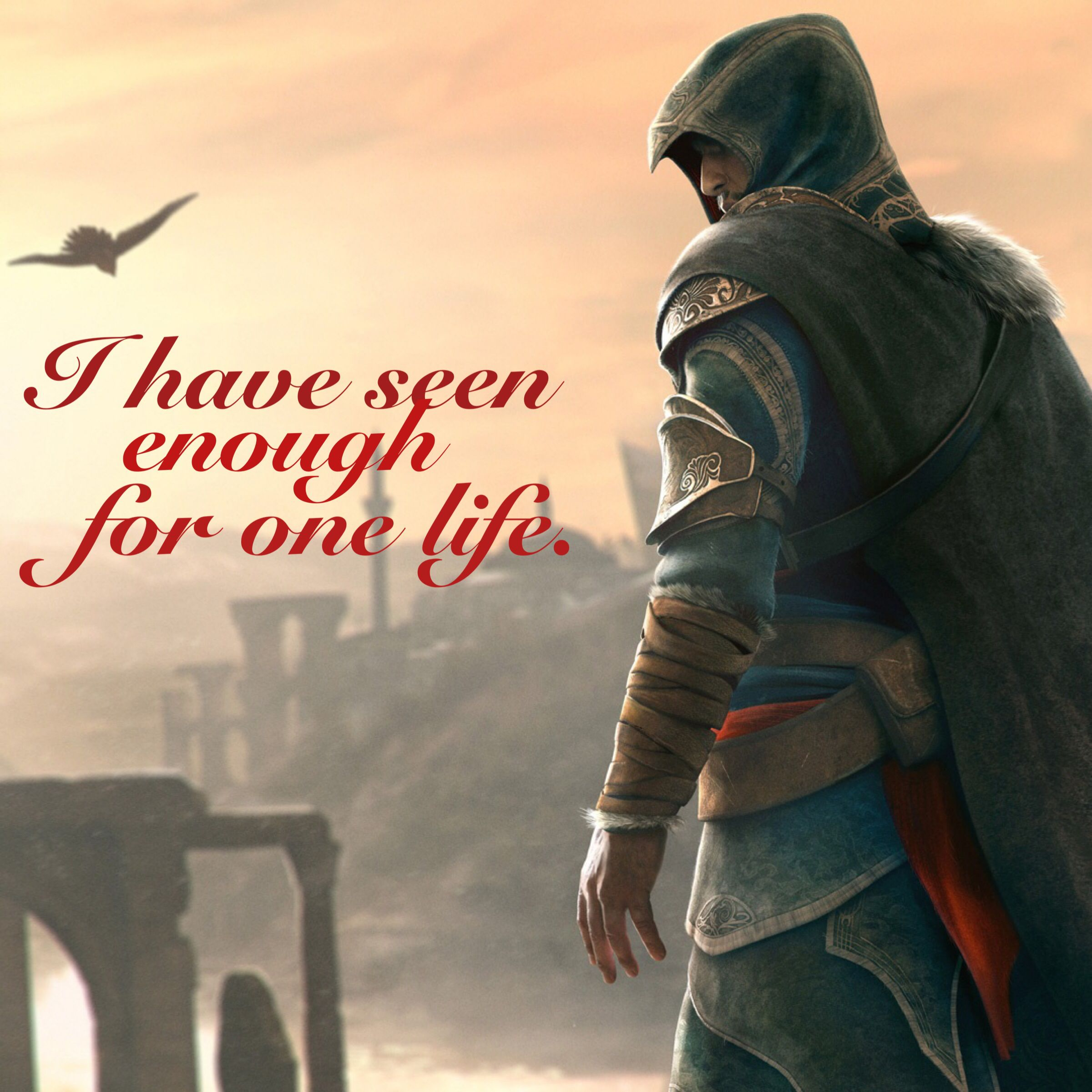 Assassin's Creed quote wallpaper, Assassin's Creed