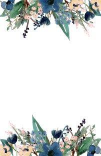 Blue Free Printable Invitation Templates Let S Party Pinterest
