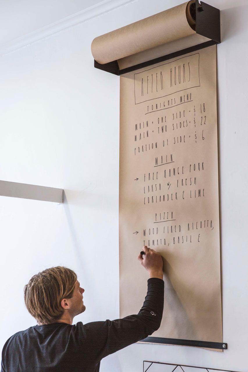 Idee Creative Per La Casa wall-mounted kraft paper roll dispenser | idee, ristorante e