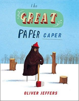 The Great Paper Caper :: An exciting picture book and audio, featuring brand new characters and a fantastic repertoire of voices from the talented Harry Enfield drawing from the wonderful imagination of best selling Childrens book author and illustrator Oliver Jeffers.