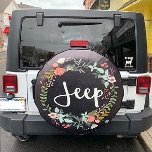 White Mandala Flower Spare Tire Cover Jeep Wrangler Rubicon Rv Etsy In 2020 Jeep Wrangler Jeep Wrangler Rubicon Jeep Accessories
