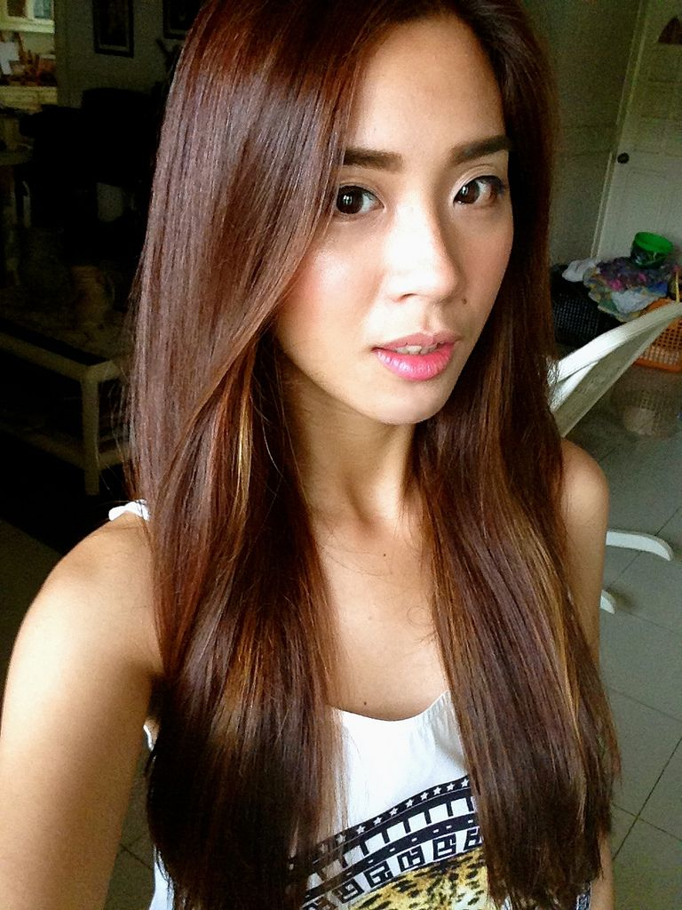 Black Underneath Brown Hair Www Pixshark Com Images