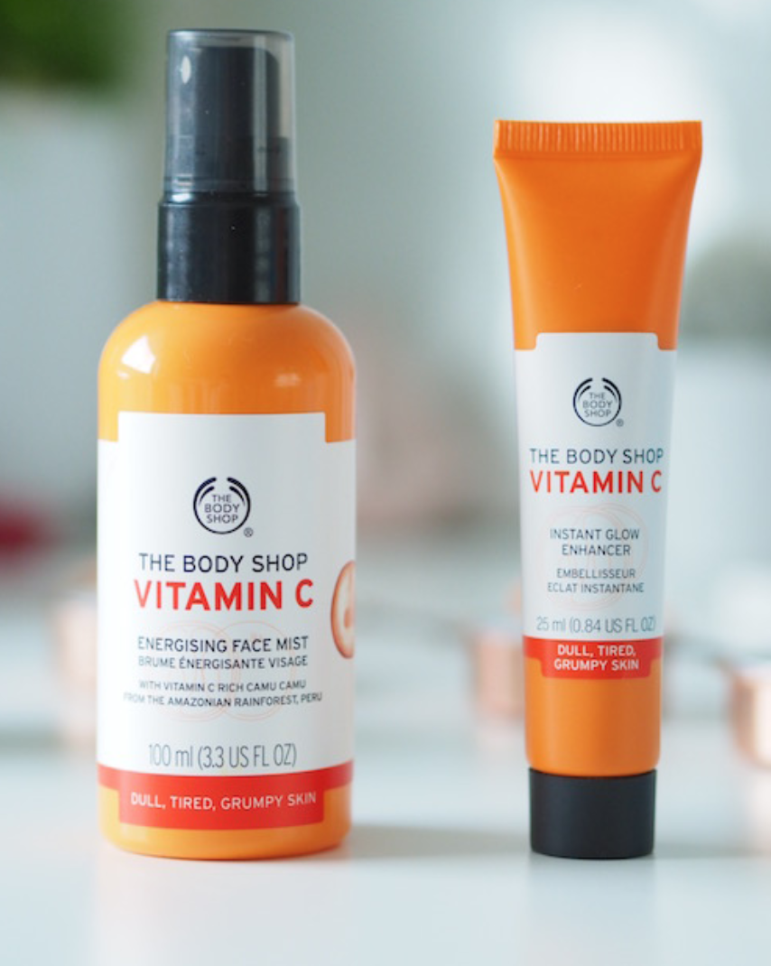 body shop face mist vitamin c