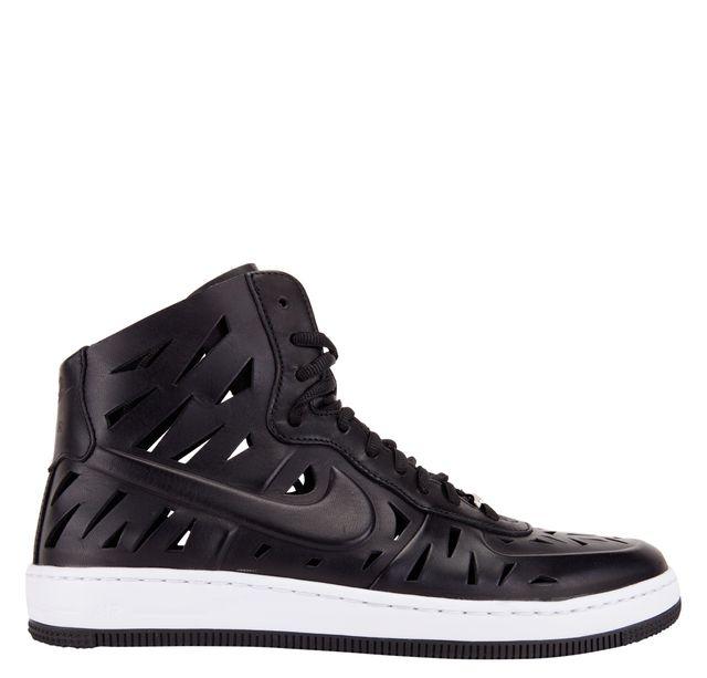 Nike Womens Air Force 1 Ultra Force Mid Joli Black White
