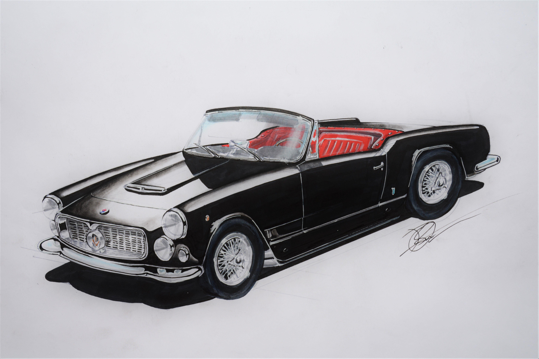 Maserati 3500 gt Vignale Spyder