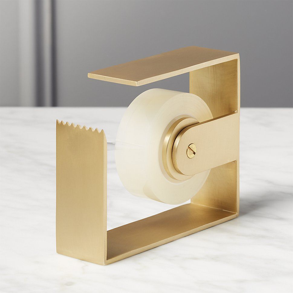Shop Solid Brass Studio Tape Dispensers Inspired By The