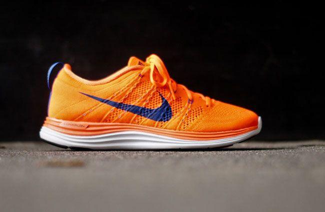 """designer fashion a416e 3d01b Nike Flyknit Lunar 1+ """"Total Orange"""""""