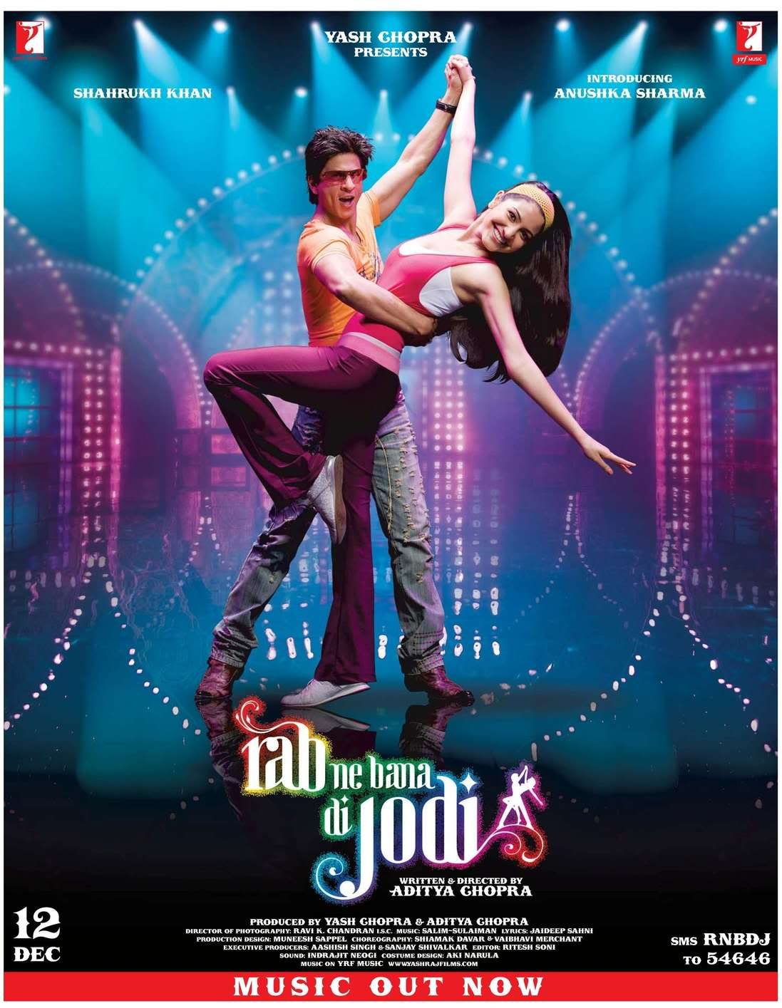 Rab Ne Bana Di Jodi 2008  Shahrukh Khan Hindi Movie -7691