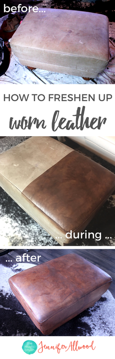 Ideas : How to Restore Leather Furniture with ReLuv Leather Paint | Fix Worn out Leather Furniture | Painting Tips from theMagicBrushinc.com | How to Fix Furniture