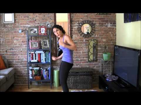 ▶ Standing Abs Workout You Can Do Anywhere - YouTube