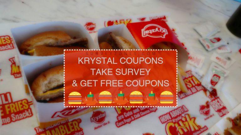 Www Krystalguestsurvey Com Krystal Guest Survey Get Free Krystal Feedback Survey Code Krystal Restaurant Surveys Krystal
