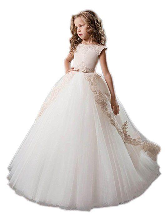 Beyonddress Mädchen Prinzessin Blumenmaedchen Kleid Maedchen ...