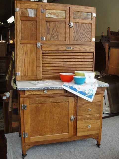 antique oak kitchen cabinets | 1920's vintage sellers mastercraft