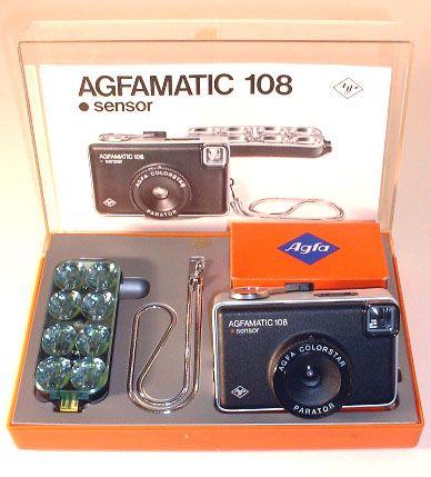 Mon premier appareil photo.