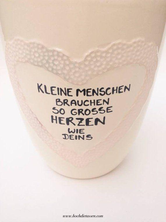 Gift dresser, gift midwife, Flower pot, farewell kindergarten, midwife, teacher educator Gift - Dorit Otto #flowerpot