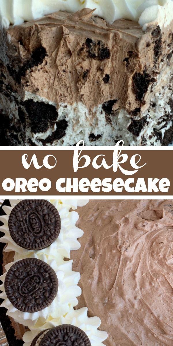 Oreo Cheesecake Pie | Together as Family