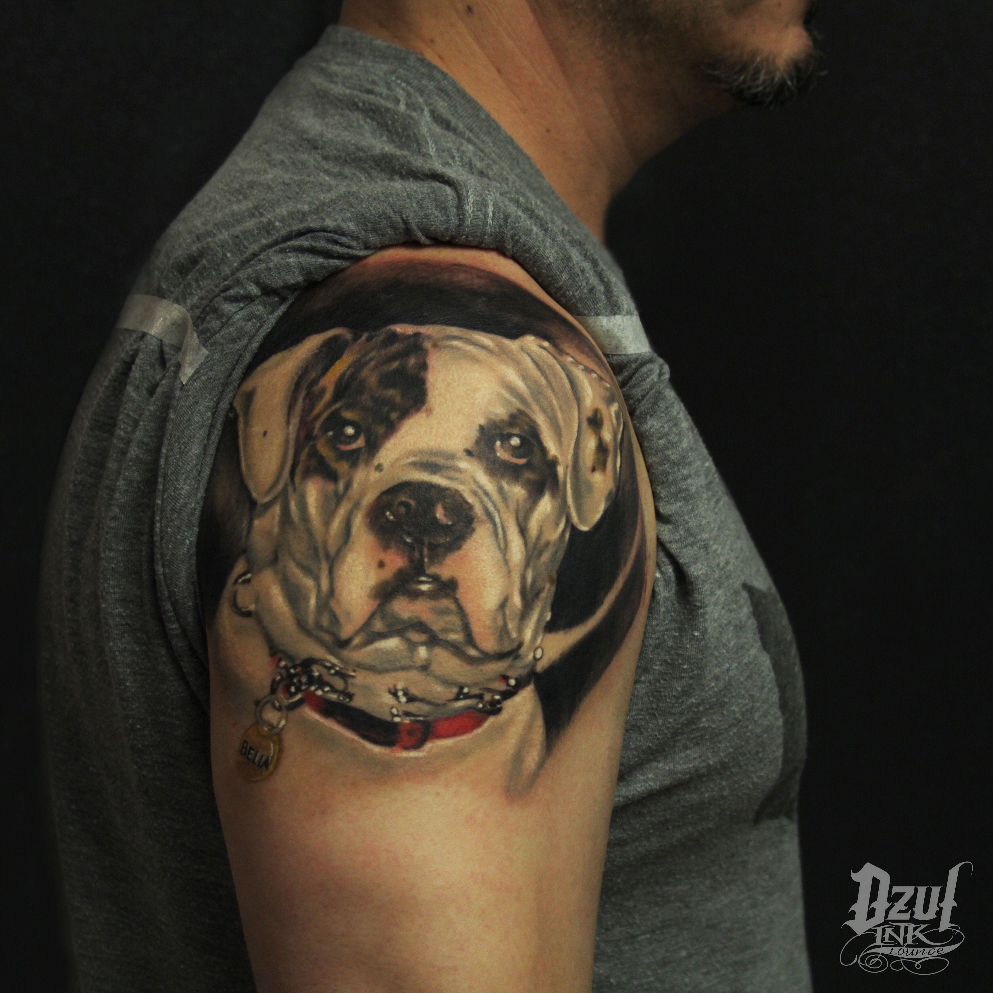 Mans best friend tattoo by jacob dzul dzulink