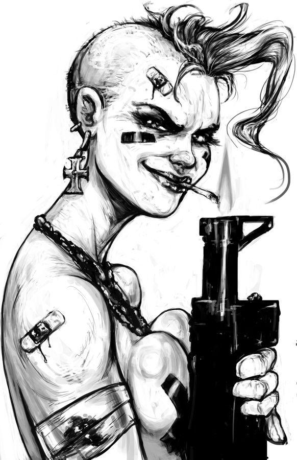 Tank Girl by suarezart on DeviantArt