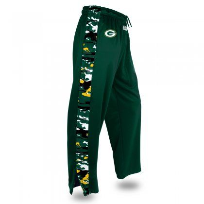 Nfl Officially Licensed Green Bay Packers Camo Print Stadium Pant Green Bay Packers Clothing Pants Mens Fleece
