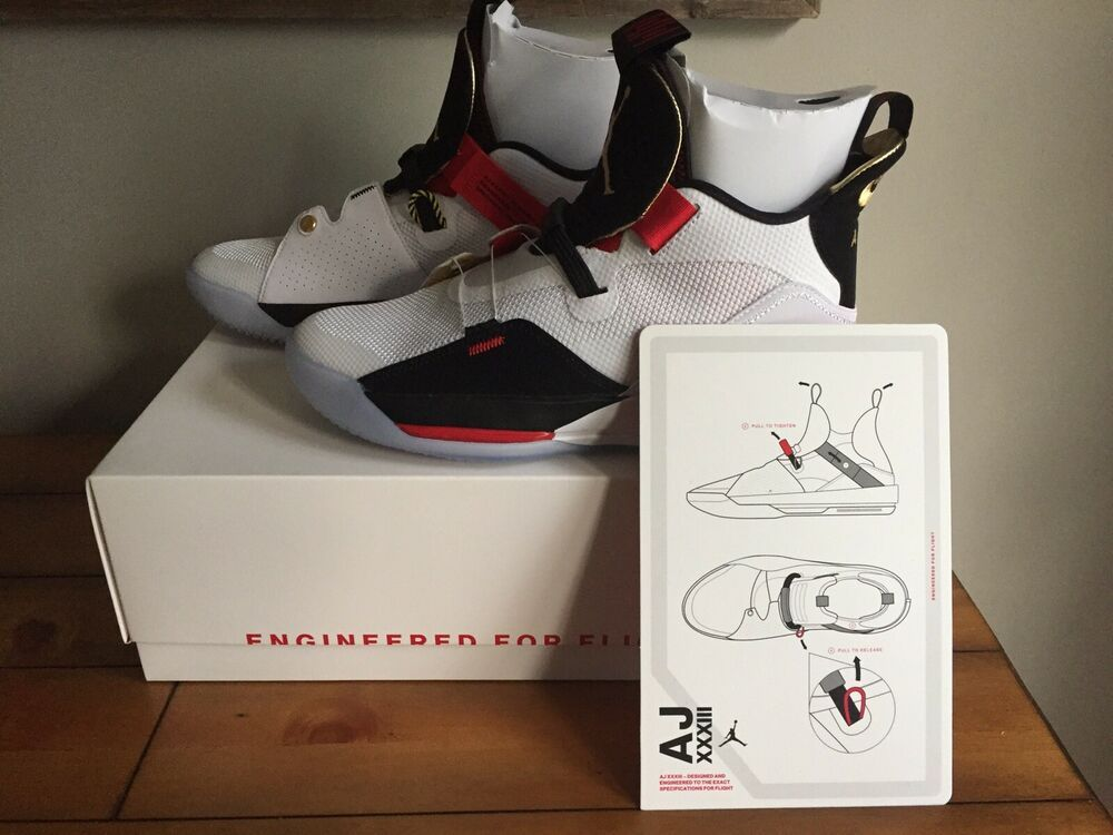 Nike Air Jordan 33 XXXIII Size 8 Future