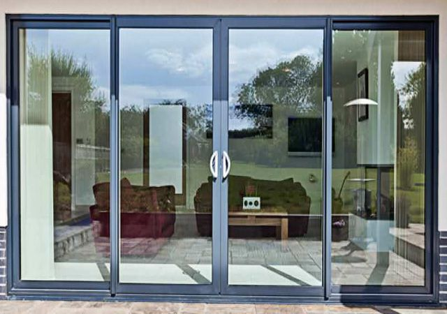 Aluminum Sliding Patio And French Doors Alternative To Steel Not As Thin But Have To Pr Sliding Glass Doors Patio Glass Doors Patio Aluminium Sliding Doors