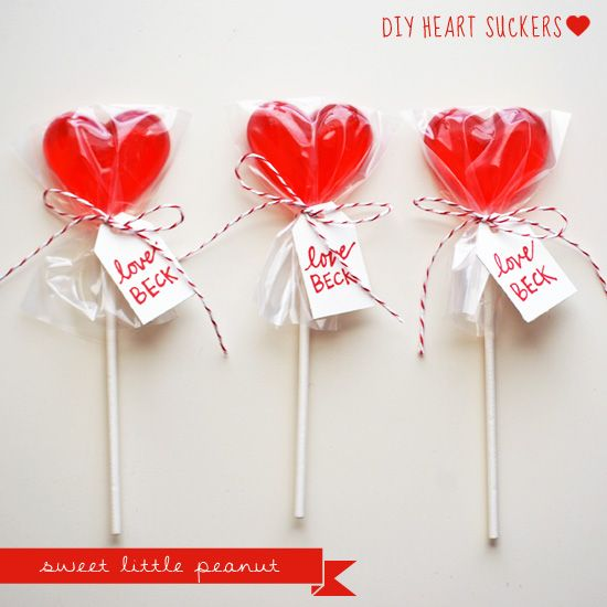 diy valentine's day suckers | sweet little peanut | seasonal, Ideas