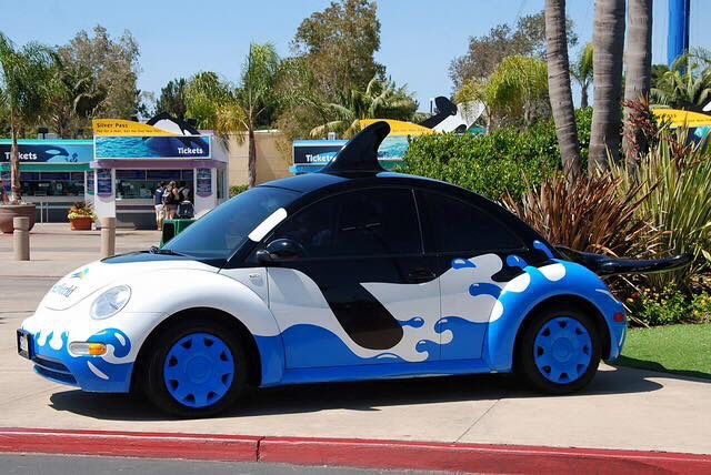 Sea World Beetle Car Bug Car Toy Car