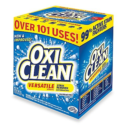 Oxiclean 174 Versatile Stain Remover Powder In 7 22 Lb Box