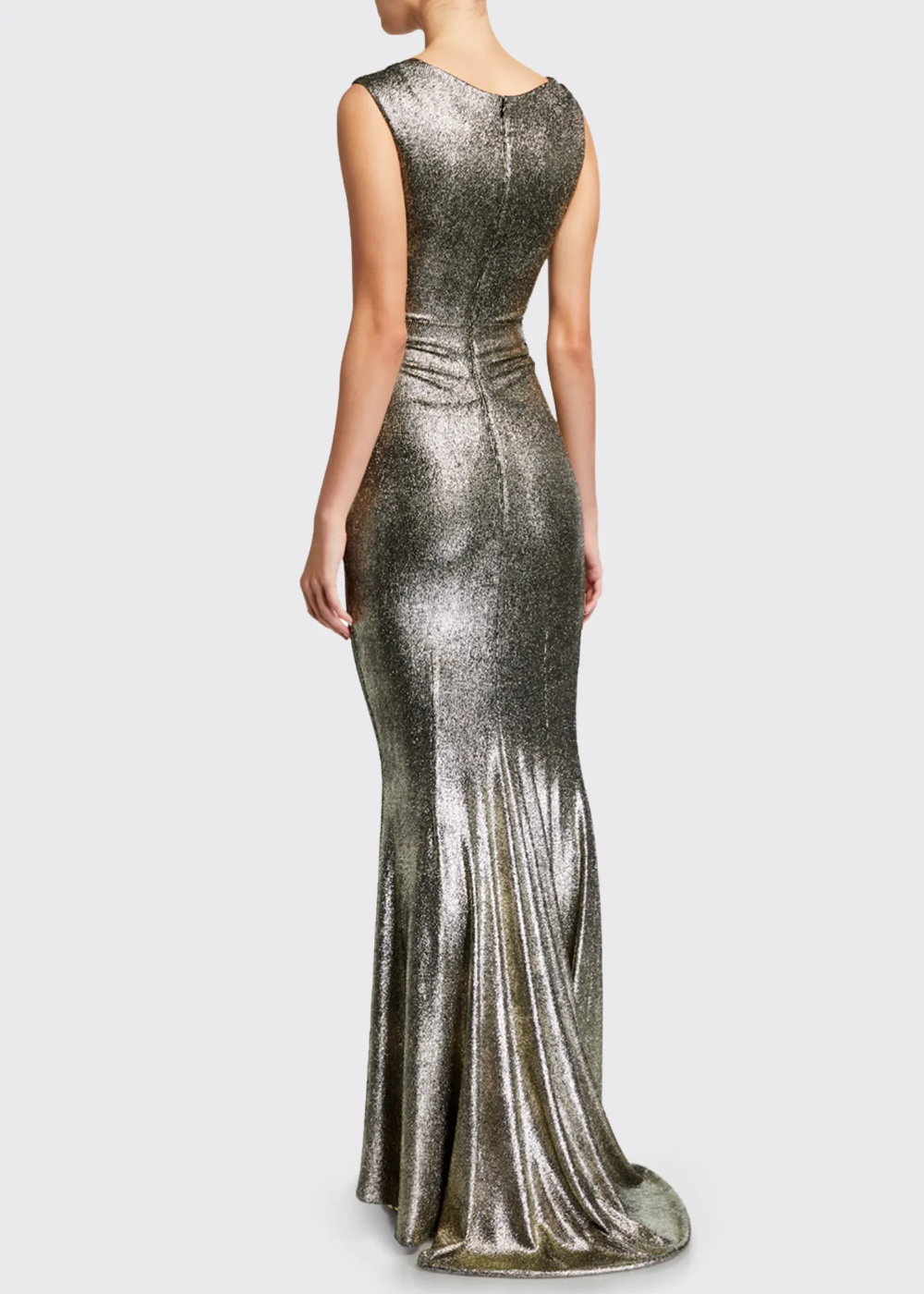 Talbot Runhof Twisted Metallic Jersey Gown Gowns Talbots Talbot Runhof [ 1400 x 1000 Pixel ]