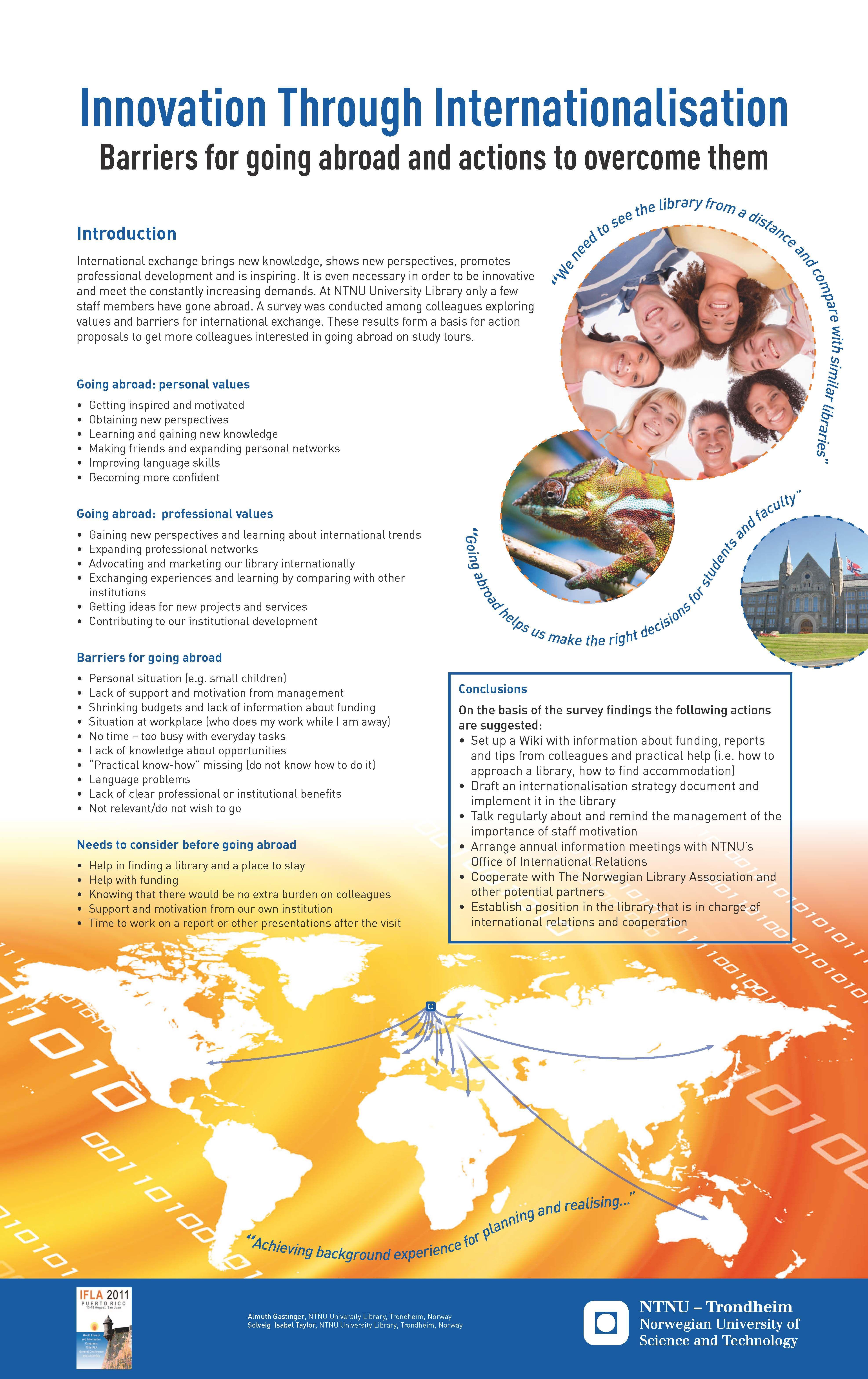 Poster presentert på IFLA 2011