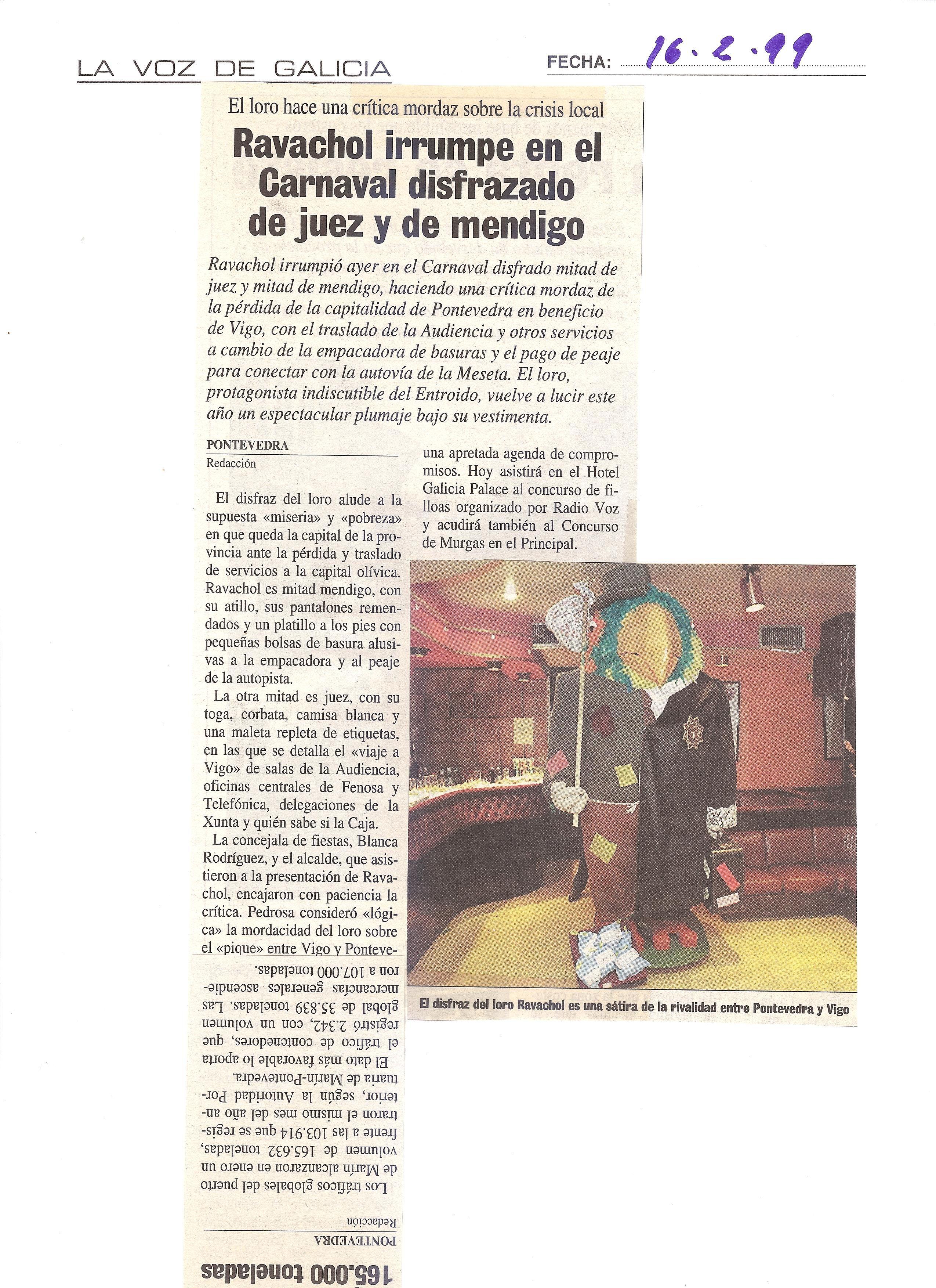 Prensa La Voz De Galicia La Voz Fotos Juez