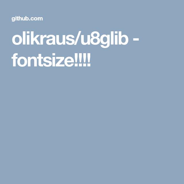 olikraus/u8glib - fontsize!!!!   5110 LCD NOKIA