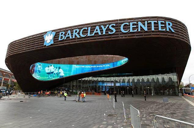 Barclays Center, Brooklyn, NY     visual perception-  it looks a lot like a spaceship that's been left to rust.  user first? It has displaced a lot of people and divided the surrounding community.