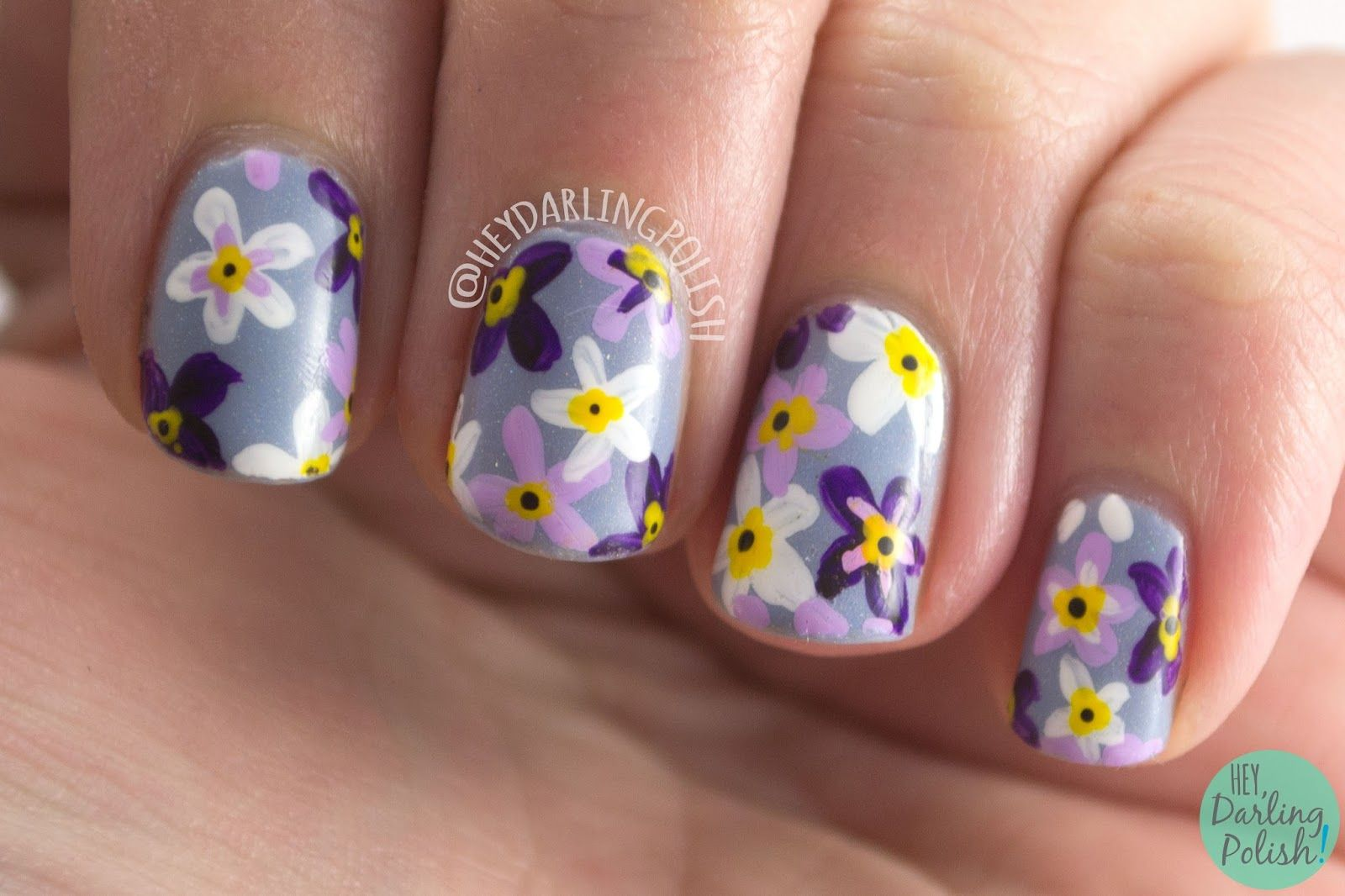 NAIL Linkup: Spring Flowers