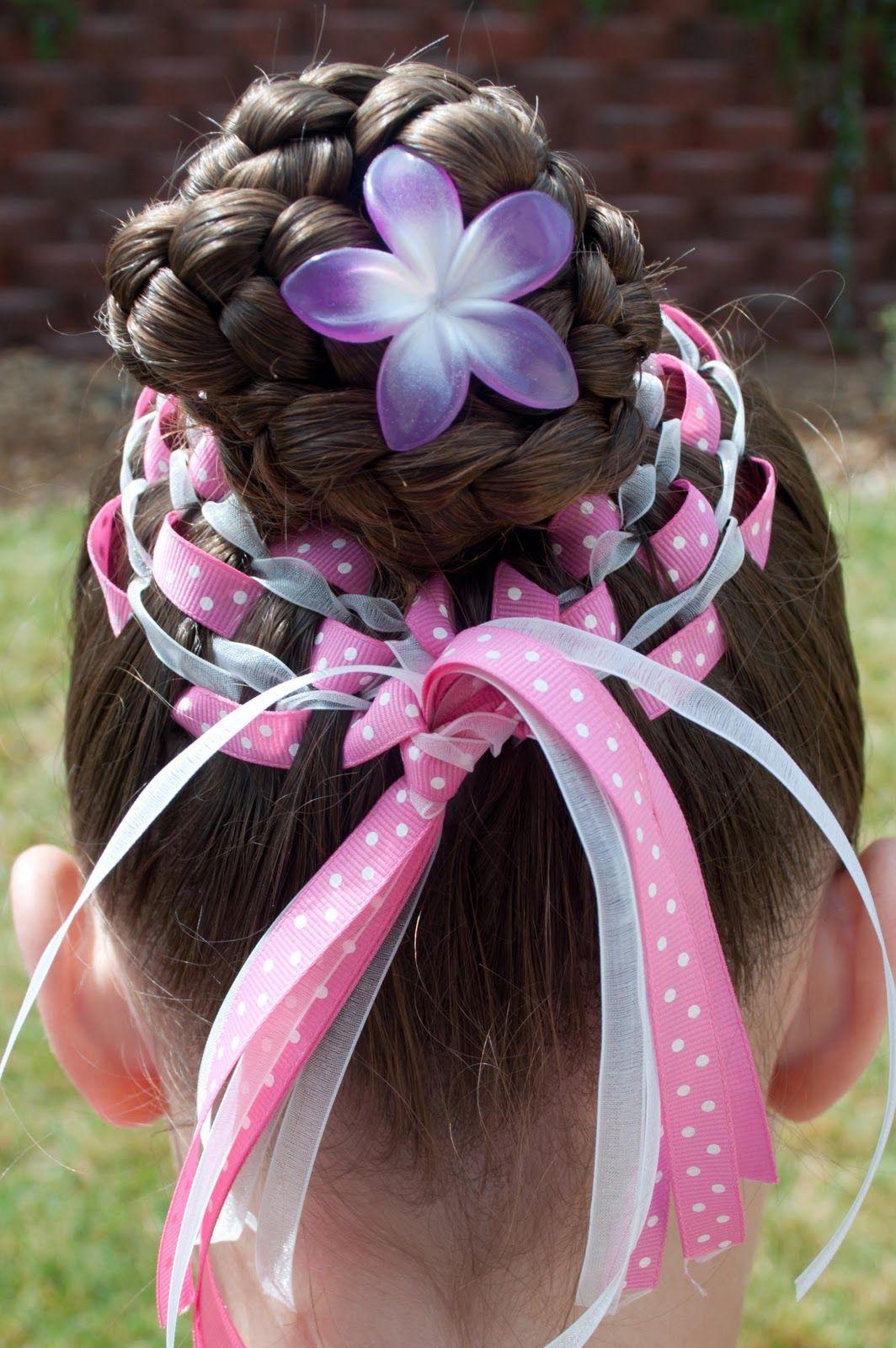 Princess piggies easter bun hairstyles pinterest easter