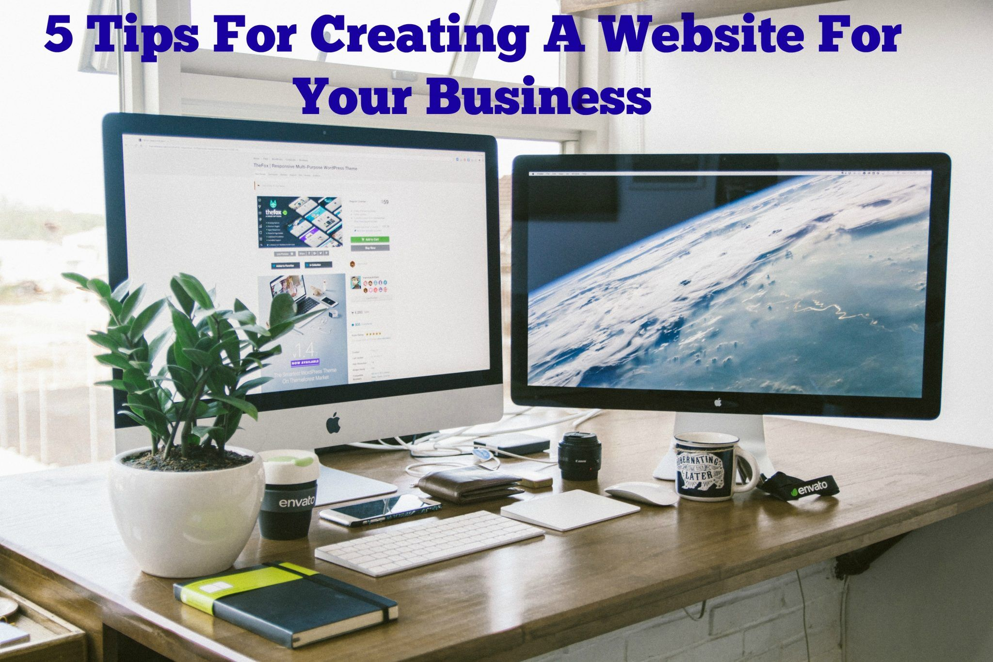 Starting a new business is an exciting undertaking; there is nothing more rewarding than being your own boss. After all the blood, sweat, and tears involved with coming up with your million dollar idea and winning business plan, it's time to create a web presence.