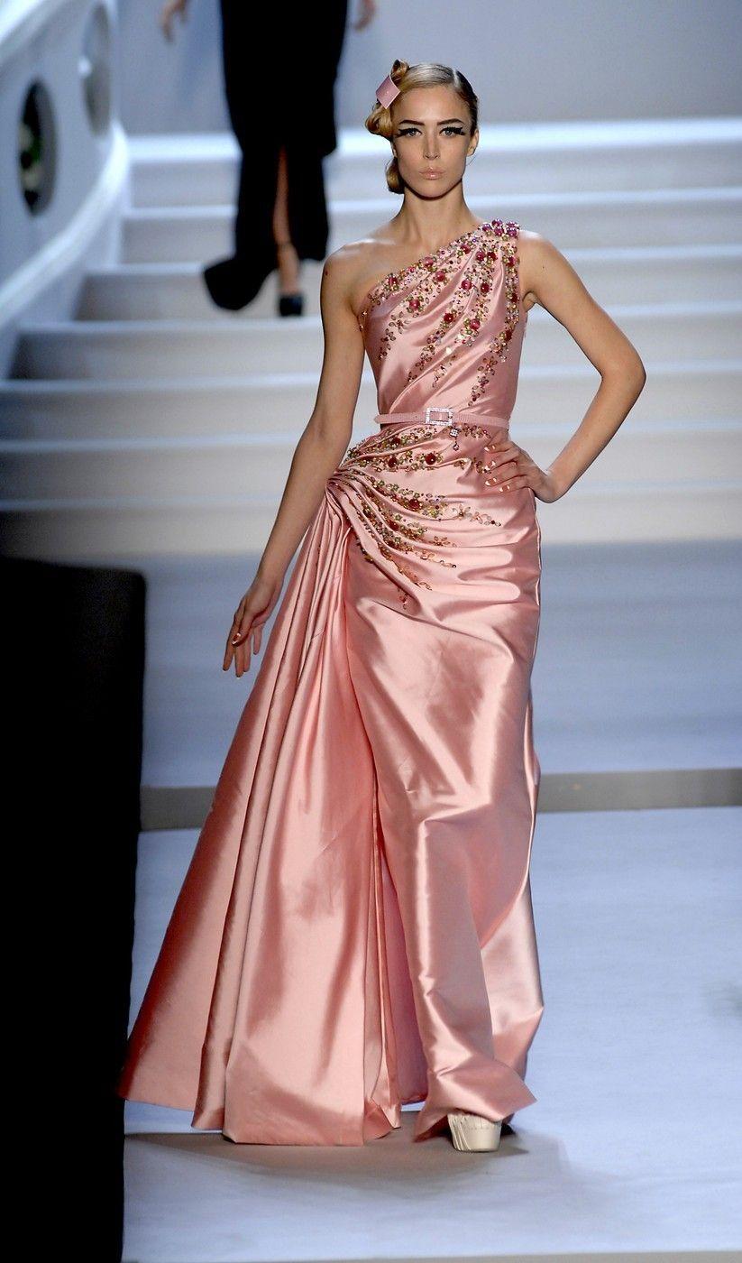 "skaodi: "" Raquel Zimmermann at Christian Dior Haute Couture Fall ..."