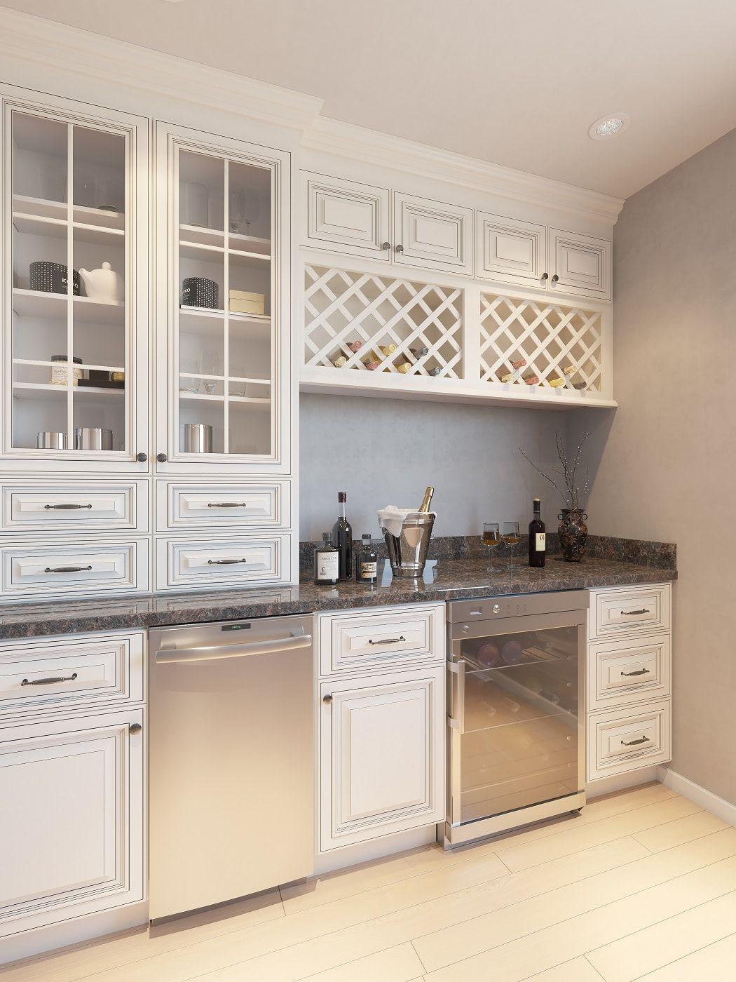 Signature Vanilla Glaze Ready To Assemble Kitchen Cabinets The Rta Store Assembled Kitchen Cabinets Kitchen Cabinets Bar Room