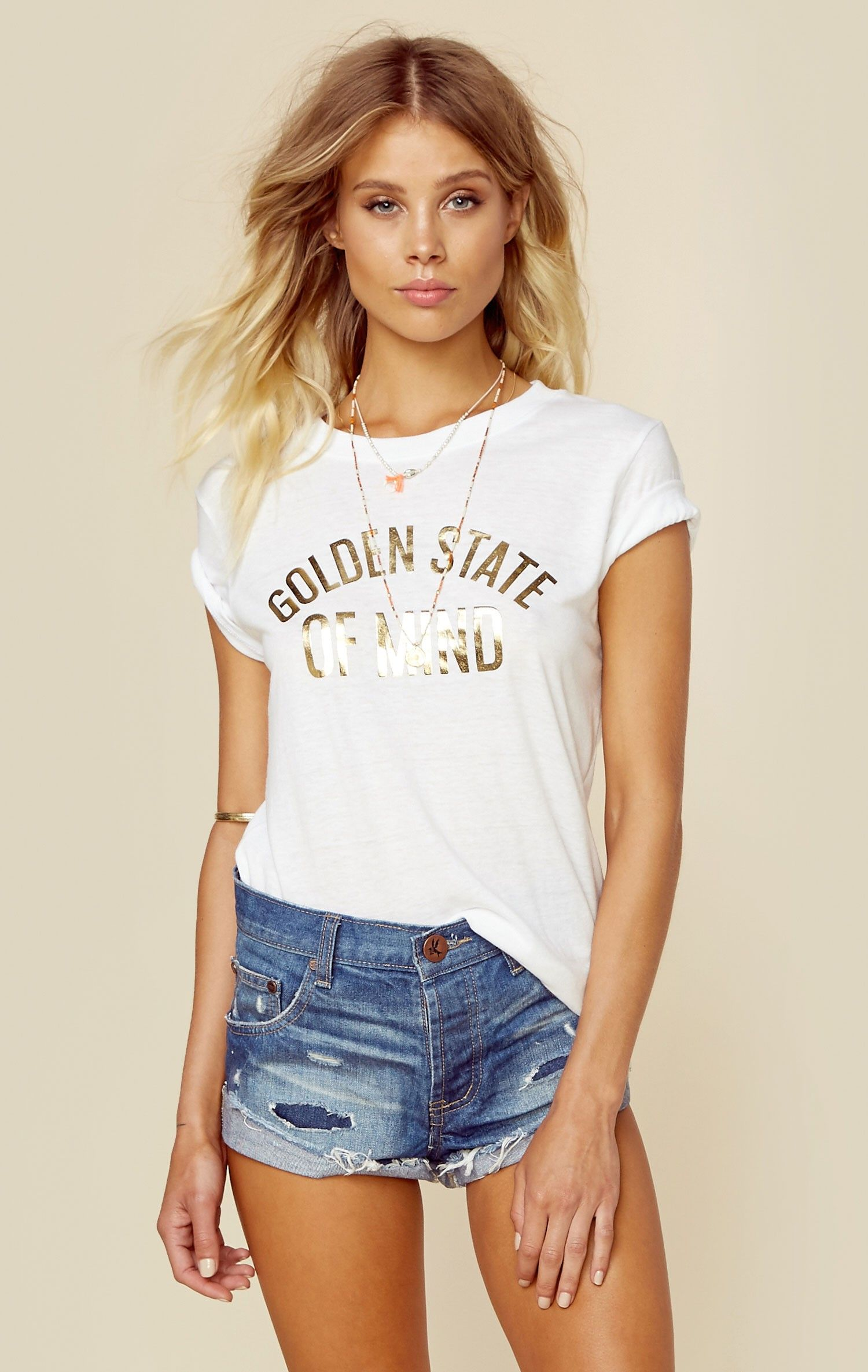 9a10ce38fcc3 Golden state of mind loose tee