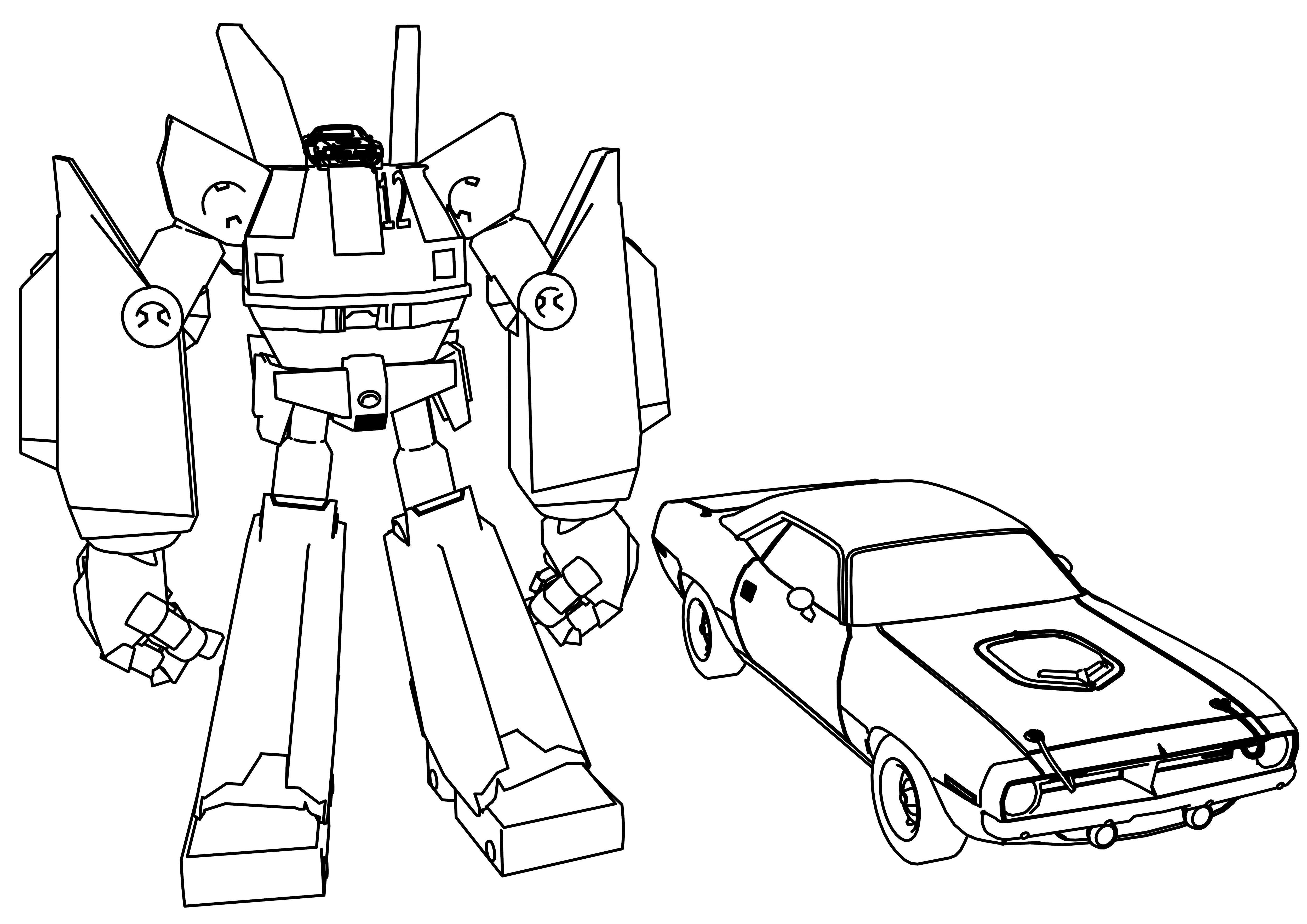 cool Mega Robots Megas Xlr Coloring Page | Coloring pages ...