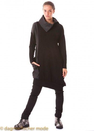 Kleid jersey schwarz