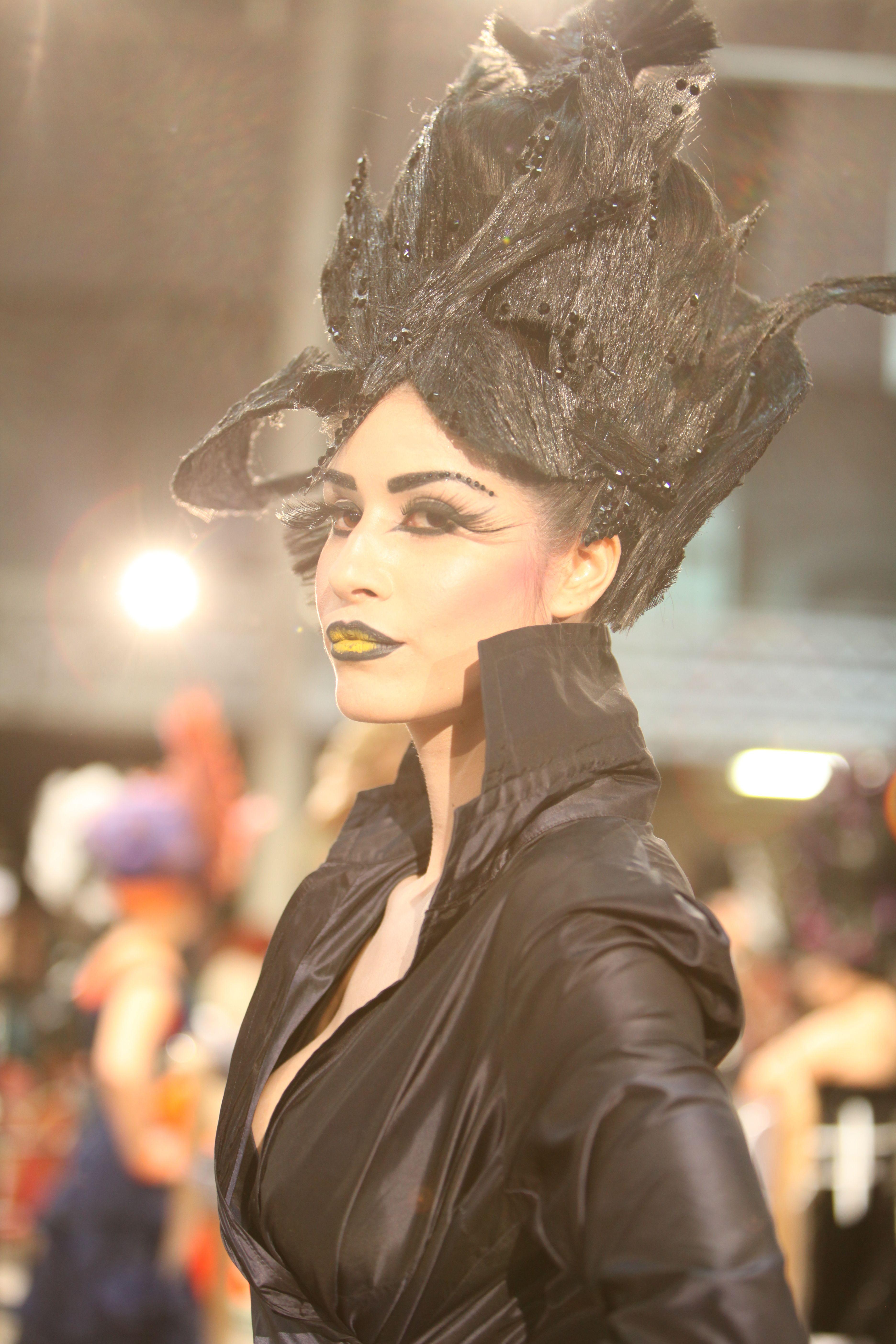 'black swan' entry from Ireland at OMC european championships in hair...Dublin Ireland | Short ...