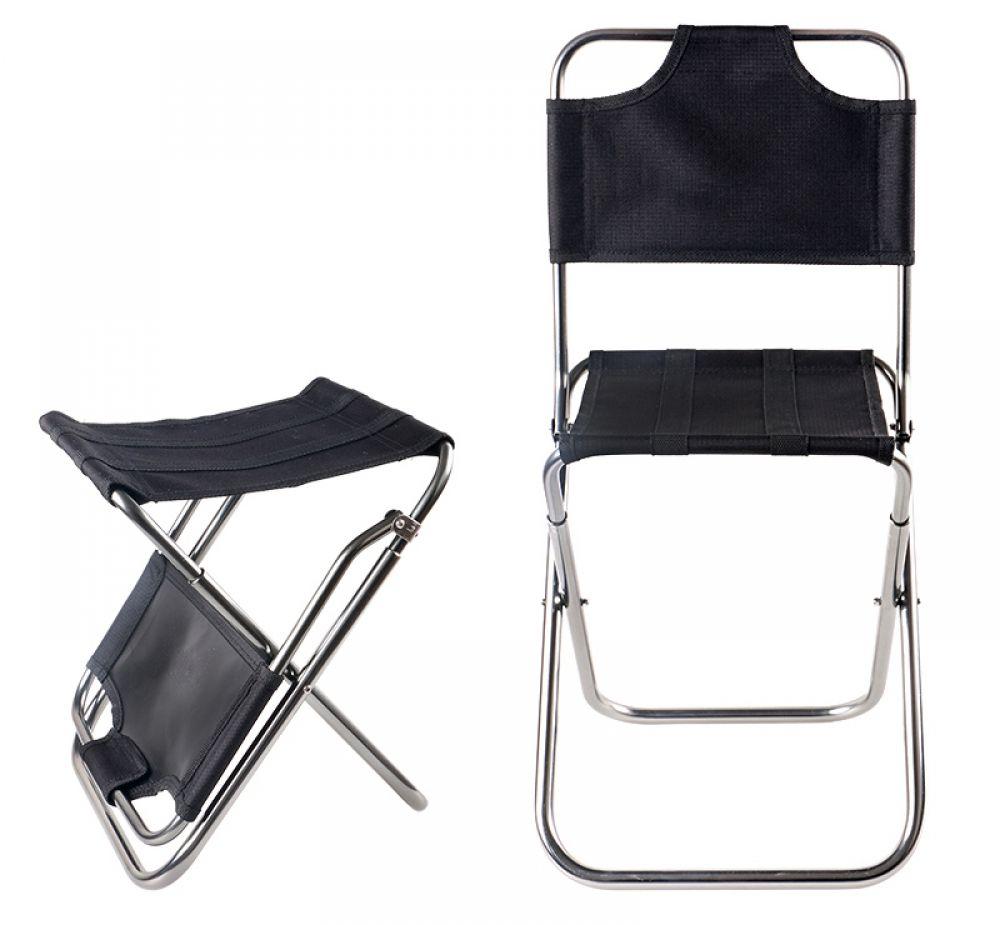 Portable Outdoor Dual Chair & Stool Folding chair