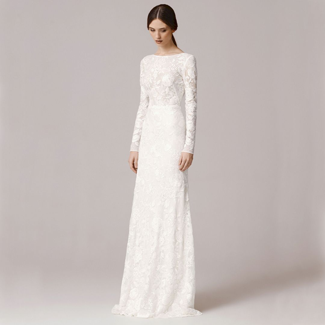 25+ Best Long Sleeves Wedding Dresses Ideas For Trend 2018 You Need ...
