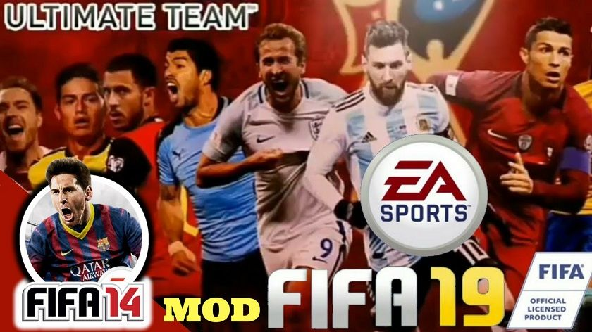 Download FIFA 2019 19 Android Mobile - FIFA 14 Mod Patch