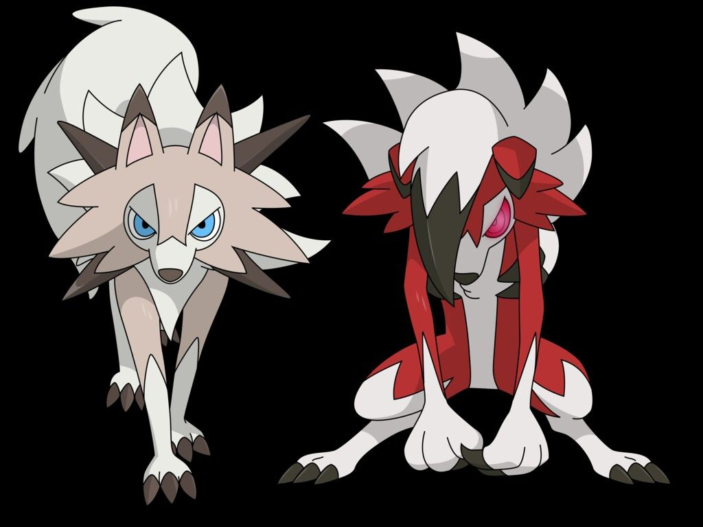Pokemon - Lugarugan - Rockruff - sun - moon