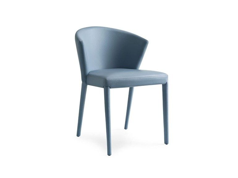 Sedie blu ~ Calligaris amÉlie cs lh u ac sedia in pelle colori blu