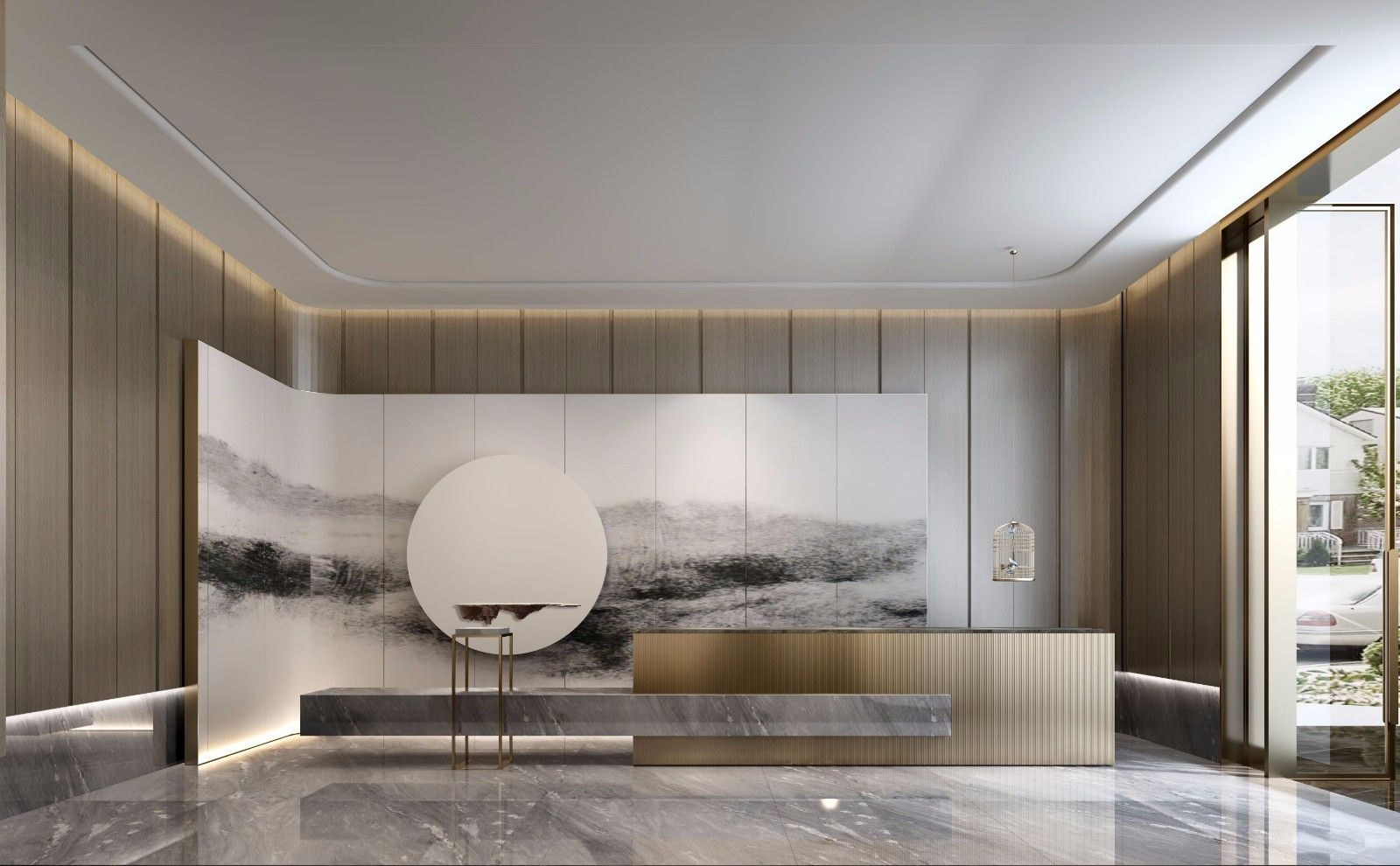 Hotel Reception Areas Design Counter
