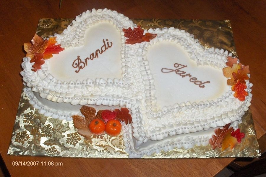fall bridal shower cake - Google Search | Jessie and Mike ...